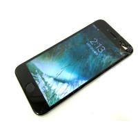 ドコモ docomo アップル iphone6 64GB スペースグレー MG4F2J/A 画面割れ...