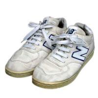 ニューバランス NEW BALANCE スニーカー シューズ 靴 幅広 6 .0EE アイボリー系 ...