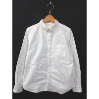 無印良品 良品計画 シャツ 長袖 コットン オックスフォード 白 ホワイト M 180901R レデ...