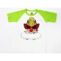 ヒステリックミニ Hysteric MINI Tシャツ 半袖 ロゴ イラスト 70 白 黄緑 ベビー...