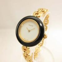 グッチ GUCCI 腕時計 11/12.2 チェンジ ベゼル ウォッチ チェーン 美品 H-1706...