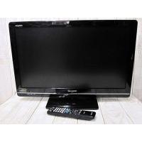 SHARP AQUOS LC-24K7 24型 24インチ 液晶 TV テレビ ブラック 黒 動作確...
