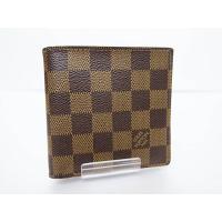 ルイヴィトン LOUIS VUITTON ダミエ ポルトフォイユ マルコ 二つ折り財布 N61675...