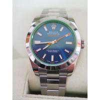 ロレックス ROLEX 美品オイスターパーペチュアル ミルガウス116400GV 自動巻き 腕時計 ...