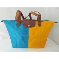 ロンシャン LONGCHAMP マルチカラー トートバッグ 鞄 かばん 小旅行 オレンジ イエロー ...