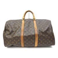 ルイヴィトン LOUIS VUITTON ボストンバッグ 旅行鞄 キーポル50 モノグラム /Z S...