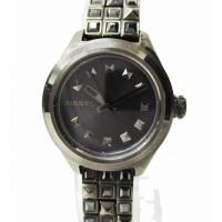 ディーゼル DIESEL DZ5437 KRAY KRAY スタッズ クォーツ 腕時計 a1 レディ...