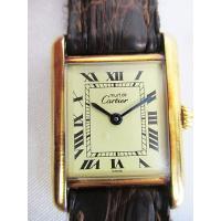 カルティエ Cartier マストタンク 腕時計 クオーツ 925 ヴィンテージ アンティーク D3...