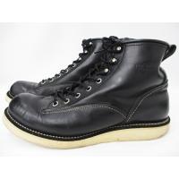 レッドウィング REDWING 2913 LINEMAN BOOTS ラインマン ブーツ 黒 ブラッ...