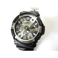カシオジーショック CASIO G-SHOCK GA-200BW 腕時計 ガリッシュブラック 動作品...