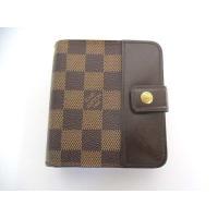 ルイヴィトン LOUIS VUITTON ダミエ コンパクト ジップ 財布 N61668 小銭入れ ...