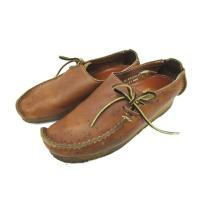 クラークス clarks ワラビー シューズ レザー 革 靴 ローカット ブラウン 茶 UK6 メン...