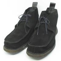 クラークス clarks デザート ブーツ スエード C75211W 靴 黒 M ☆AA★ ◇MM-...