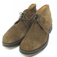 オールデン ALDEN デザート ブーツ スエード 1234 靴 ブラウン 25.5 ◇MM-823...