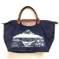 ロンシャン LONGCHAMP 日本限定 富士山 ル・プリアージュ 折りたたみ式 トートバッグ ハン...