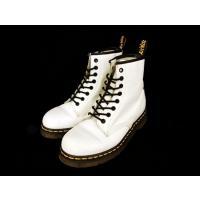 ドクターマーチン DR.MARTENS 1460 ブーツ 8ホール 8EYE BOOT AirWairソール UK6 白 ホワイト ▲H ayk レディース【中古】【ベクトル 古着】