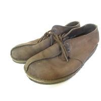 クラークス clarks デザートトレック シューズ 靴 レザー 茶色 ブラウン 9 1/2 メンズ...