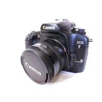 キヤノン Canon EOS 7 一眼レフ カメラ 黒 ブラック ジャンク扱い【中古】【ベクトル 古...