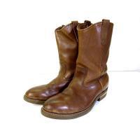 レッドウィング REDWING PECOS Boots ペコスブーツ 茶色 ブラウン メンズ【中古】...