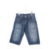 リーバイス Levi's 503 パンツ デニム ジーンズ ハーフ 32 青 ブルー /ek メンズ...