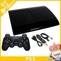 【ポイント5倍】PS3 プレステ3 PlayStation 3 250GB チャコール・ブラック (CECH-4000B) SONY ゲーム機 中古 すぐ遊べるセット