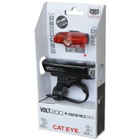 【CATEYE】【限定】 キャットアイ LIGHT ライト VOLT100(HL-EL150RC)+...