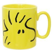ビッグフェイス MUG マグカップ ウッドストック スヌーピー ピーナッツ 金正陶器 500ml 日本製 キャラクター