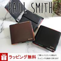 ポールスミス 2つ 折り財布 メンズ アーティストストライプポップ P514  ■品番 ・アーティス...