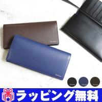 ポールスミス Paul Smith 財布 長財布 二つ折り 革製 レザー 男性用 メンズ P306 ...