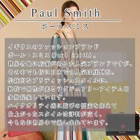 ポールスミス 財布 レディース がま口長財布 牛革 羊革 ブラック ピンク バーガンディー クロスオーバーストライプトリム W545