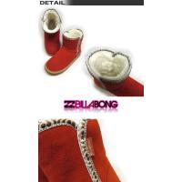 SALE/ビラボンレディースアウトレット/BILLABONG/AD014-920/スエードスキンショートブーツ/サーフブランド