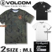 VOLCOM ボルコム メンズ ラッシュガード 半袖Tシャツスタイル サーフT ゆったり UPF50+  N01119G0