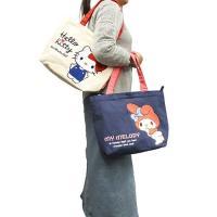【サンリオ】ハローキティ お出かけトート/サガラ刺繍