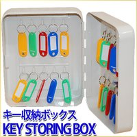 防犯対策として複数の鍵を収納できるキーボックス。 鍵の管理や保管に役立つ、鍵付きで安全に管理。 会社...