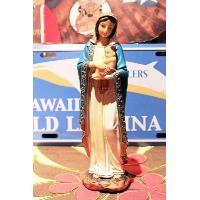 聖母マリア像 Mサイズ レジン製 8インチ 約20センチ