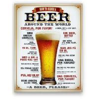 もはやアメリカ雑貨の定番!?アメリカ直輸入のアメリカンブリキ看板です★アルコール系のデザインになりま...