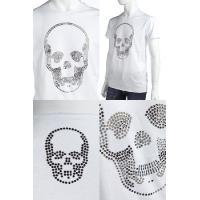ルシアンペラフィネ lucien pellat-finet Tシャツ メンズ EVH1553 ホワイト 送料無料 LPF値下