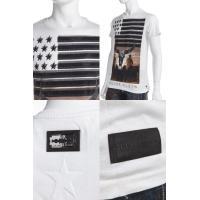 フィリッププレイン PHILIPP PLEIN Tシャツ 半袖 丸首 メンズ FW14 HM341867 ホワイト G-SALE 目玉商品VIA2