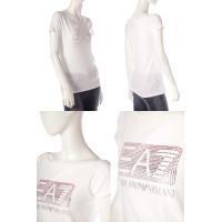 エンポリオアルマーニ Emporio Armani EA7 Tシャツ 半袖 ワイドクルーネック レディース 283793 6P201 ホワイト 目玉商品