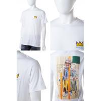 2016年秋冬新作 イレブンパリ ELEVEN PARIS Tシャツ 半袖 丸首 16F1 TS182 BASQUIAT32 メンズ BASQUIAT32 M ホワイト
