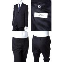 ヴェルサーチコレクション VERSACE COLLECTION スーツ 2つボタン サイドベンツ シングル メンズ V100028 VT00827 ダークグレイ