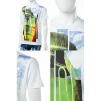 2017年春夏新作 ディースクエアード DSQUARED2 Tシャツ 半袖 丸首 メンズ S74GD0238S22427 ホワイト 2017SS_SALE