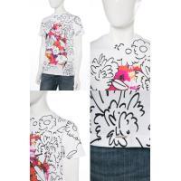 ディーゼル DIESEL Tシャツ 半袖 丸首 T-JOE-GN MAGLIETTA メンズ 00SS3S 0EADQ ホワイト