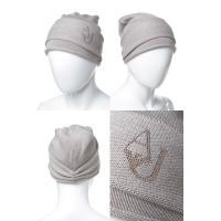 アルマーニジーンズ ARMANIJEANS ニットキャップ ニット帽 924031 7A026 ブラウン