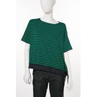 モンクレール MONCLER Tシャツ 半袖 丸首 レディース 8069100 8299L グリーン