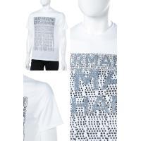 アルマーニ エクスチェンジ ARMANI EXCHANGE Tシャツ 半袖 丸首 メンズ 3ZZTDM Z4S3Z ホワイト