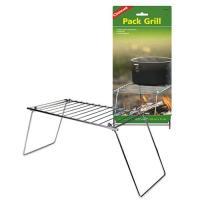 パックグリルは、軽量でコンパクトに収納でき、持ち運びに便利な焚火用グリルです。  サイズ:約31cm...