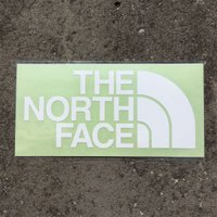 ノースフェイス THE NORTH FACE TNF Cutting Sticker ホワイト (W) NN88106