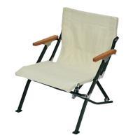 スノーピーク(snow peak) ローチェアショート アイボリー Low Chair Short Ivory LV-093IV 折りたたみ椅子 キャンプ バーベキュー (Men's、Lady's)