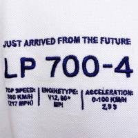ランボルギーニ メンズ アヴェンタドール LP700-4 ピケ ポロ ホワイト 9010113CCW017